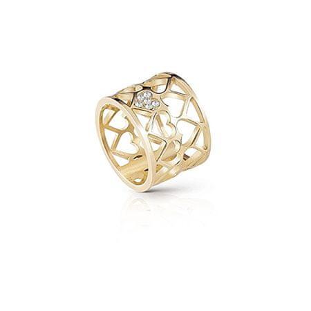 Guess Aranyozott gyűrű UBR85007 (Kerület 54 mm-es)