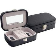 Jan KOS Czarne pudełko na biżuterię SP-487 / A25
