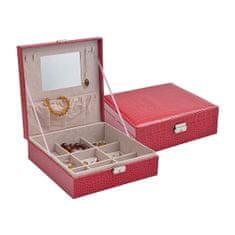 Jan KOS Czerwone pudełko na biżuterię SP-825 / A4