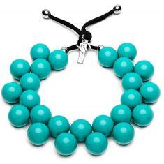 Ballsmania Originální náhrdelník C206 16-5127 Azzurro Ceramica