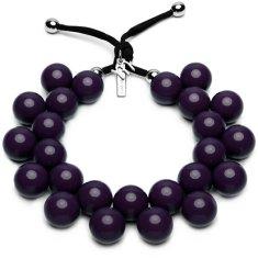 Ballsmania Originální náhrdelník C206 19-3617 Viola Misterioso