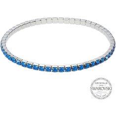Levien Třpytivý náramek s modrými krystaly 1459570