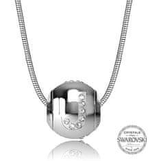 Levien Ocelový náhrdelník písmeno J CLET-J