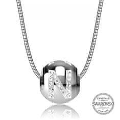 Levien Ocelový náhrdelník písmeno N CLET-N