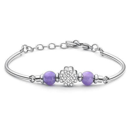Brosway Stal bransoletkaz kryształkami Très Jolie BTJMS651
