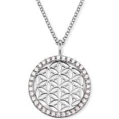 Engelsrufer Naszyjnik srebrny kwiat życia z cyrkoniami ERN-LILLIFL-ZI srebro 925/1000