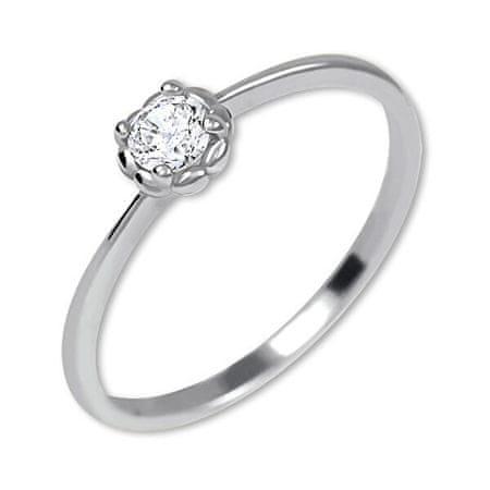 Brilio Silver Ezüst eljegyzési gyűrű 426 001 00538 04 (Kerület 53 mm) ezüst 925/1000