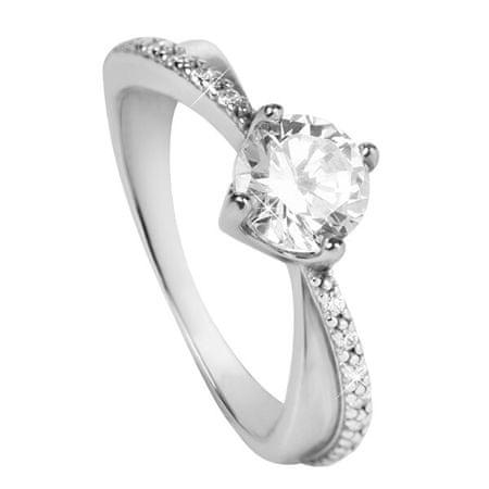 Brilio Silver Ezüst eljegyzési gyűrű 426 001 00533 04 (Kerület 58 mm) ezüst 925/1000