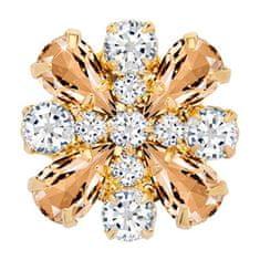 Preciosa Magnetna broška s kristali Freesia 2268Y49