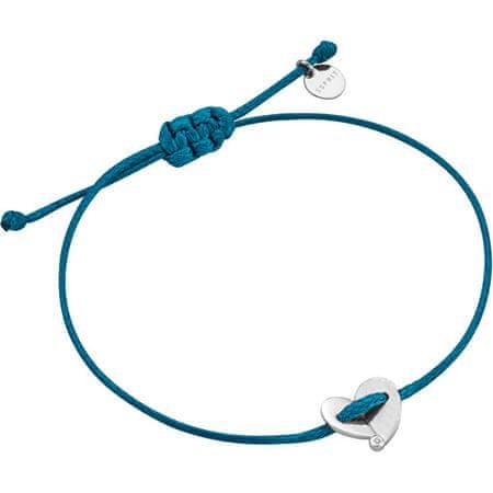 Esprit Türkiz karkötő szívvel ESBR00831121