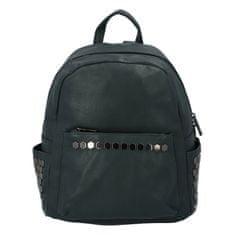 Silvia Rosa Dámsky mestský koženkový batôžtek Azura, zelený
