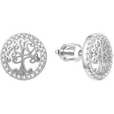 Beneto Srebrni uhani z drevesom življenja AGUP1529S