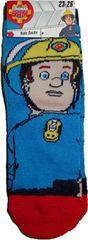 FOOT Chlapecké ponožky s motivem Požárník Sam se Samem.