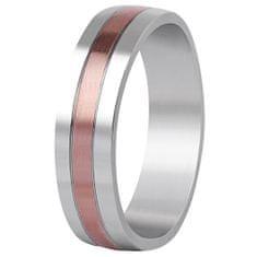 Beneto Bicolor prsten z oceli SPP10