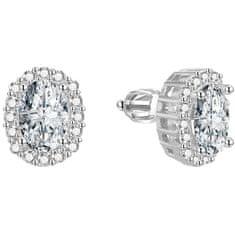 Beneto Csillogó ezüst fülbevalók AGUP1501S