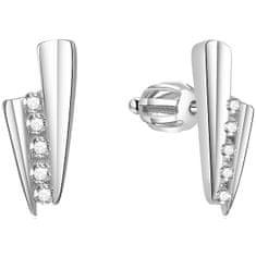 Beneto Ezüst csillogó fülbevalók AGUP1435S