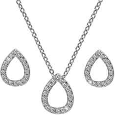 Hot Diamonds Sada stříbrných šperků Amulets SS137 (náhrdelník, náušnice)
