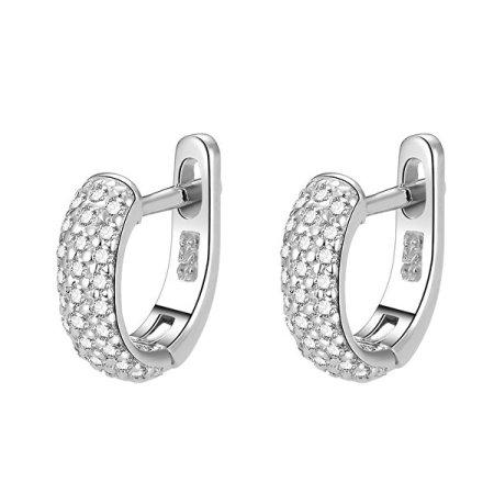 Beneto Ezüst fülbevalók gyűrűk AGUC1954