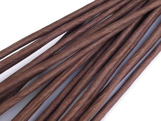 Kraftika 20ks hnědá floristický drát ø2,5mm, délka 40cm