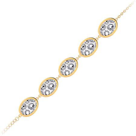 Preciosa Dwustronny bransoletka z błyszczącymi kryształami Idared 7363Y00