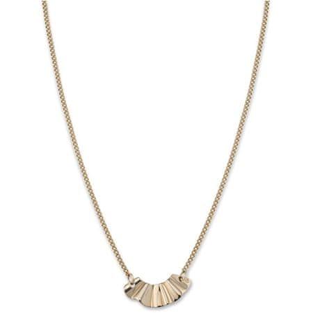 Rosefield Pozlačena jeklena ogrlica BLWNG-J201