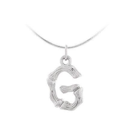 "JVD Ezüst medál ""G"" betű SVLP0486XH2000G ezüst 925/1000"