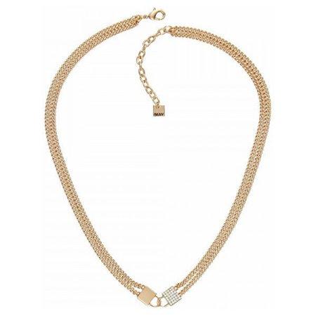 DKNY Luxus nyaklánc függő lakattal 5520108