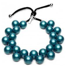 Ballsmania Originální modrý náhrdelník C206M-18-4718 Blu Oceano