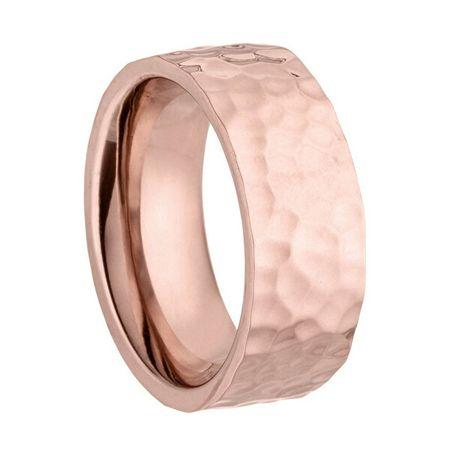 Tamaris Rózsaszín aranyozott gyűrű Vicky TJ205 (Kerület 53 mm)