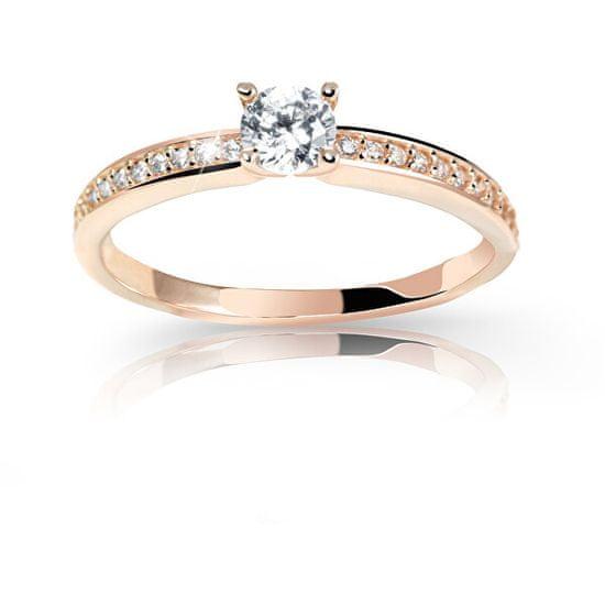 Cutie Jewellery Úchvatný třpytivý prsten Z6713-2523-10-X-4 (Obvod 53 mm)