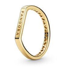 Pandora Ezüst aranyozott gyűrű 169048C00 ezüst 925/1000
