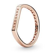 Pandora Moderné bronzový prsteň 189048C00 striebro 925/1000