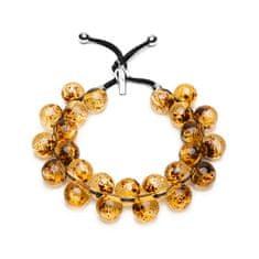 Ballsmania Originální náhrdelník C206FEELAMBR Ambra