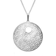 Praqia Ezüst nyaklánc Whirling KO1277V_CU050_45_RH (lánc, medál) ezüst 925/1000