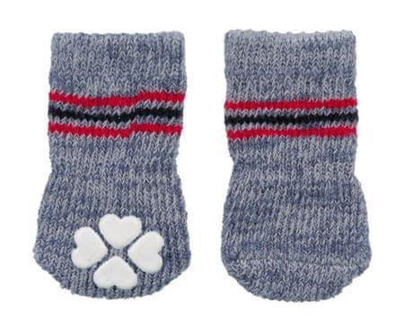 Trixie Csúszásmentes szürke zokni