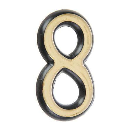 """Pace Ajtó száma """"8 """"""""allur,"""" nagy, műanyag, színes arany"""