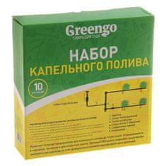 GreenGo Odkapávací zavlažování sada pro 10 rostlin,
