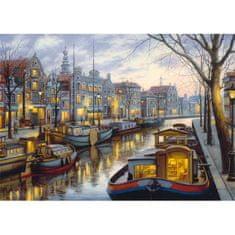 Schmidt Puzzle 1000 Along the Canal