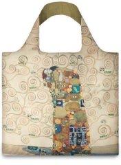LOQI Zložljiva nakupovalna vrečka Gustav Klimt