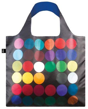 LOQI Zložljiva nakupovalna vrečka Poul Gernes, Dots
