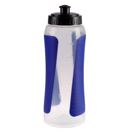 Kraftika Vizes palack 900 ml, kerékpár, műanyag pp, betétek kék