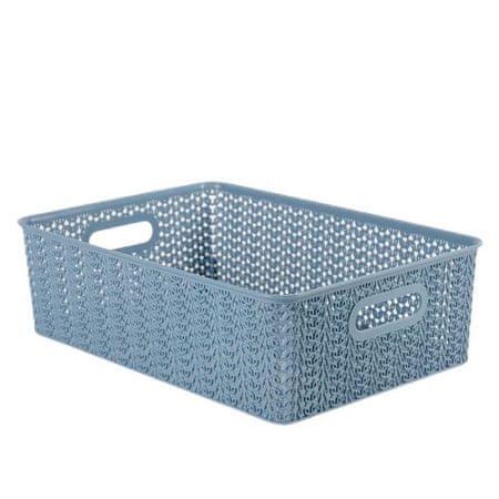 "Violette Koszyk storage ""vyaz"", 7,5 l, niebieski kolor norek"