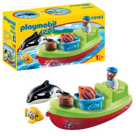 Playmobil ribar s brodom (70183)