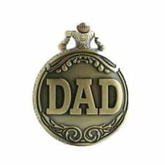 Daklos Retro přívěskové kapesní hodinky ,,DAD,,