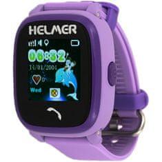 Helmer Wodoodporny zegarek Smart Touch z lokalizatorem GPS LK 704 fioletowy