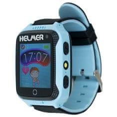 Helmer Chytré dotykové hodinky s GPS lokátorem a fotoaparátem - LK 707 modré