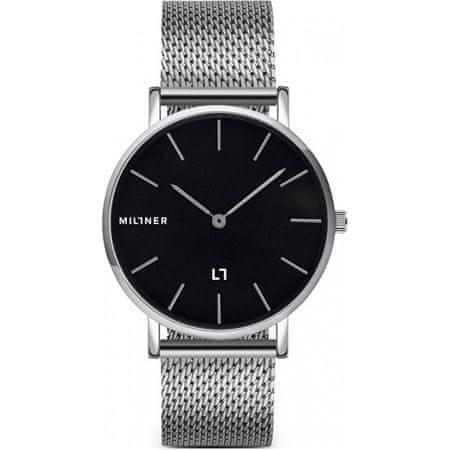 Millner Mayfair Silver Black 39 mm