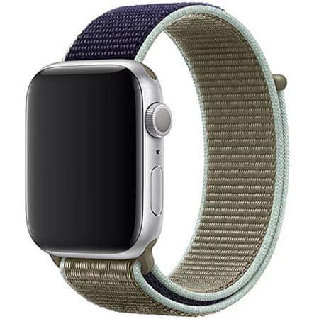 4wrist Nawlekany sportowy pasek do zegarka Apple Watch - Khaki 42/44 mm