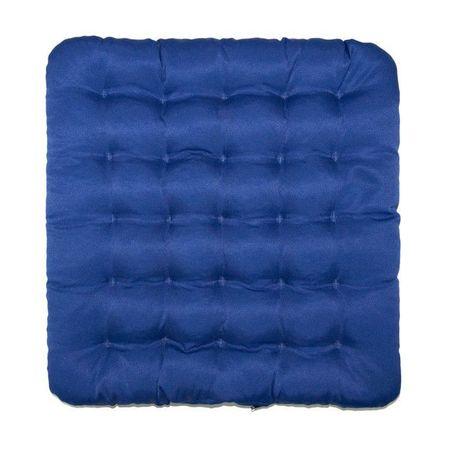 Kraftika Poduszka comfort krzesło niebieski 40x40cm łuski gryki
