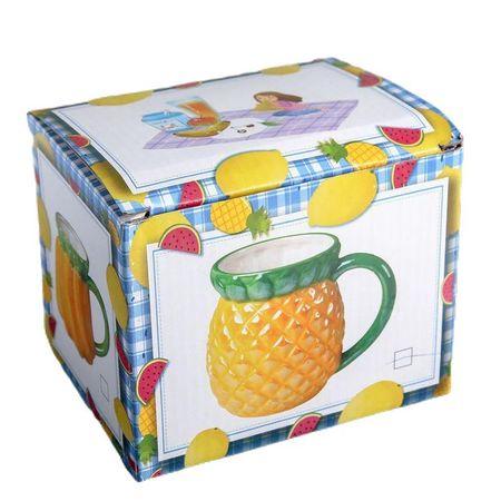 Kraftika Bögre 380 ml ananász